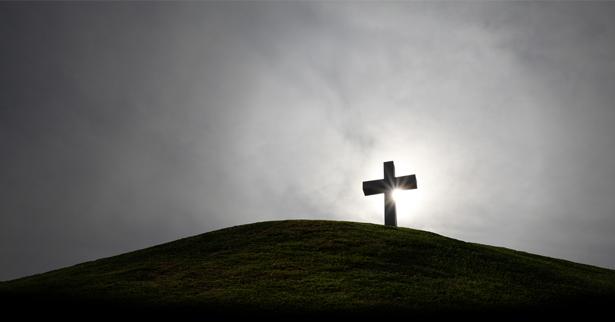 Het kruis op de heuvel